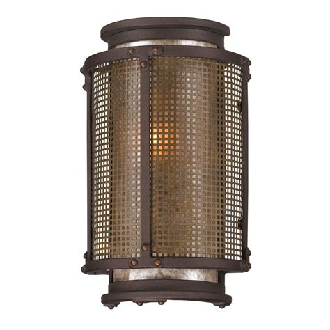 copper outdoor wall lights troy lighting mumford 3 light bronze outdoor wall mount