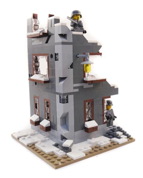lego ww2 tutorial purchase custom lego instructions wwii ruined factory