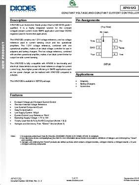 transistor g1 datasheet ap4312qk6tr g1 datasheet diode inc ap4312 is a highly integrated solution