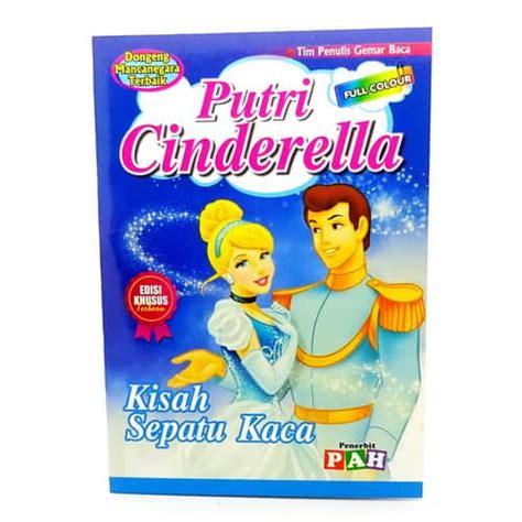 buku dongeng putri cinderella pusaka dunia