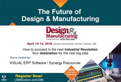 Design Manufacturing England | synergy is exhibiting at design manufacturing new