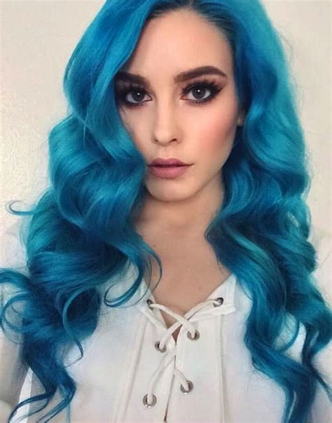 turquoise hair color get a turquoise hair dye to stand out in the crowd