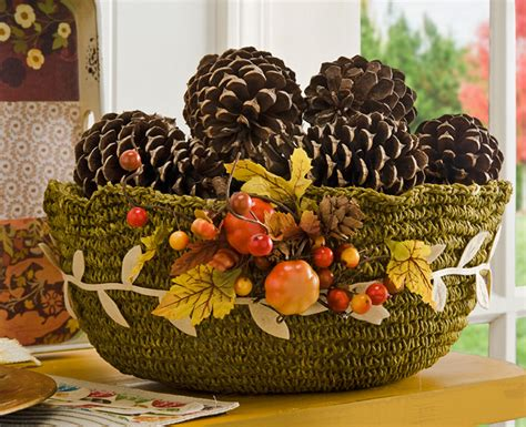 Home And Garden Television Design 101 Diy Fall Centerpiece Made With A Mod Podge Fabric
