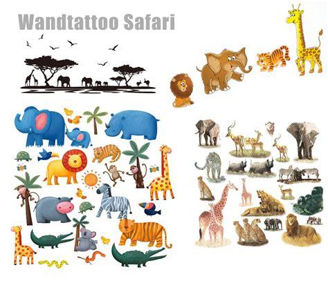Wandtattoo Kinderzimmer Dschungel Safari by Wandtattoo Safari Dschungel F 252 Rs Kinderzimmer