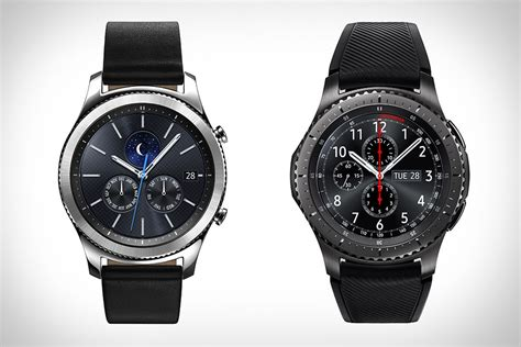 Smartwatch Gear S3 Samsung Gear S3 Smartwatch Uncrate