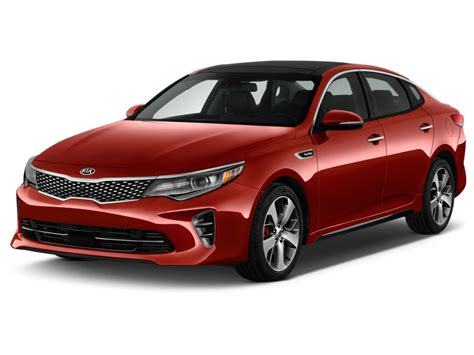 Kia Four Door Image 2016 Kia Optima 4 Door Sedan Sx Turbo Angular Front
