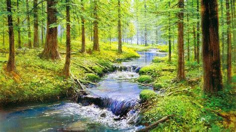 musique de relaxation  joli ruisseau nature zen