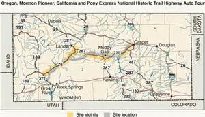 map of oregon trail in wyoming oregon trail wyoming map afputra