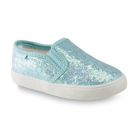 toddler glitter shoes s toddler s tween blue glitter canvas deck