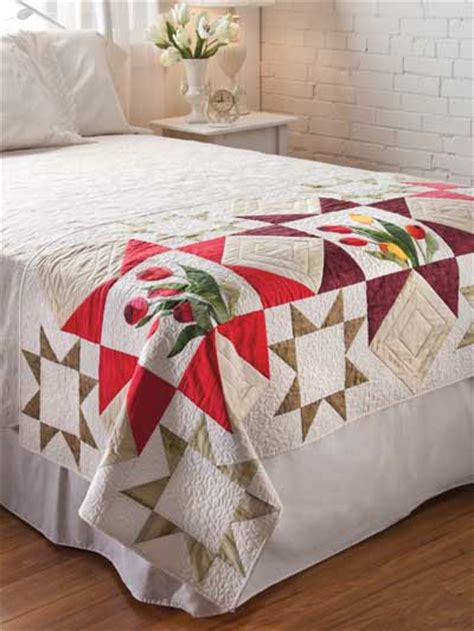 Free Bed Runner Quilt Patterns by Tulip Bed Runner