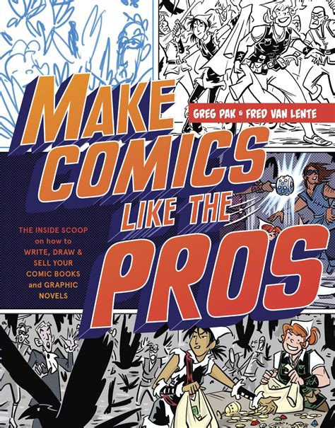 How To Make A Comic Book Out Of Paper - make comics like the pros review comic book