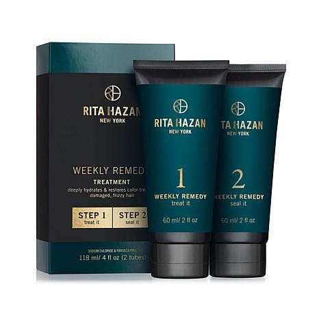 rita hazan weekly remedy review amazon rita hazan weekly remedy treatment 8301777 hsn