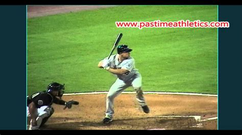 the perfect baseball swing in slow motion matt holliday slow motion baseball swing hitting