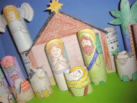 nativity crafts catholic icing diy printable nativity for