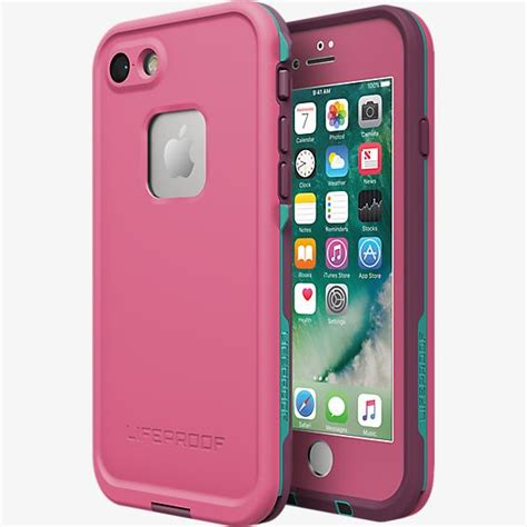 lifeproof fre case  apple iphone   pink waterproof
