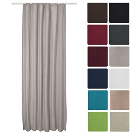 curtains 215 cm drop beautissu thermal curtain amelie with ribbon 140 cm 245 cm