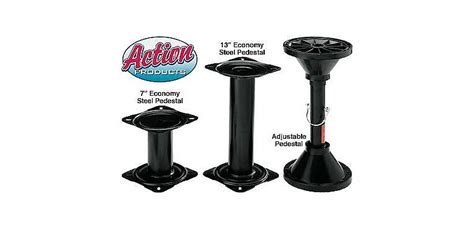 adjustable bass boat seats action products boat seat pedestals cabela s