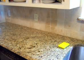 How To Paint Tile Backsplash In Kitchen Older And Wisor Painting A Tile Backsplash And More Easy