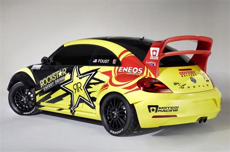 Volkswagen Rally Car by 2014 Volkswagen Beetle Grc Rally Car Rear Three Quarters