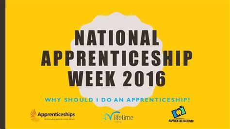 National Backyard Week 2016 National Apprenticeship Week 2016