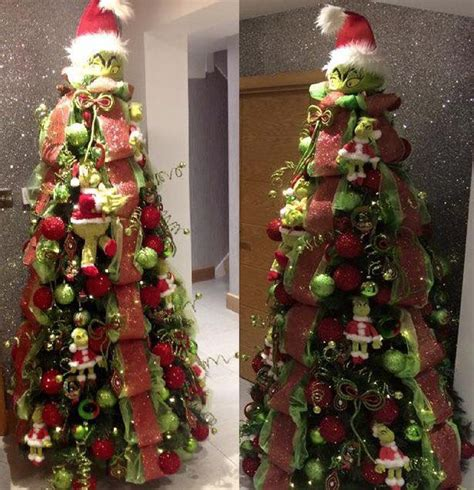 grinch inspired decorating 65 out of the box tree themes you must check out