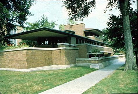 robie house chicago in the beginning the first frank lloyd wright