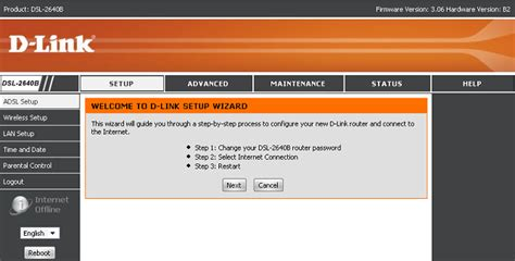 Changing DLink Default Admin Password D'link Router Password Setup