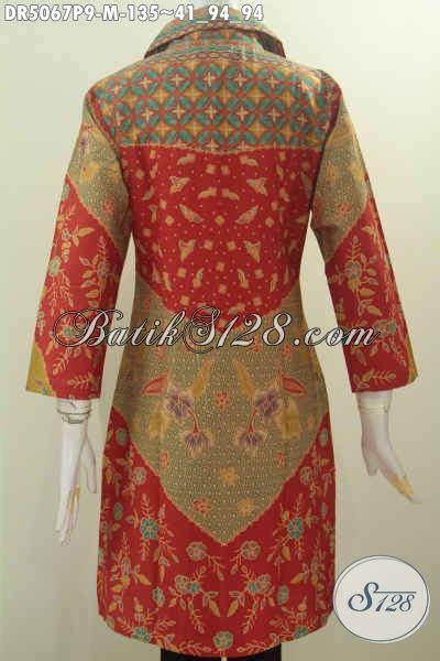 desain baju batik formal wanita produk terkini baju batik wanita desain formal kerah kotak