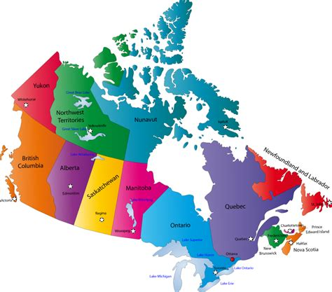 provincial maps of canada canada map map pictures
