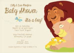 lion king baby shower invitation dolanpedia invitations