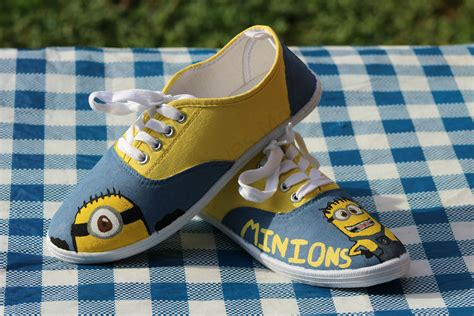 create your own minion shoes this saves money