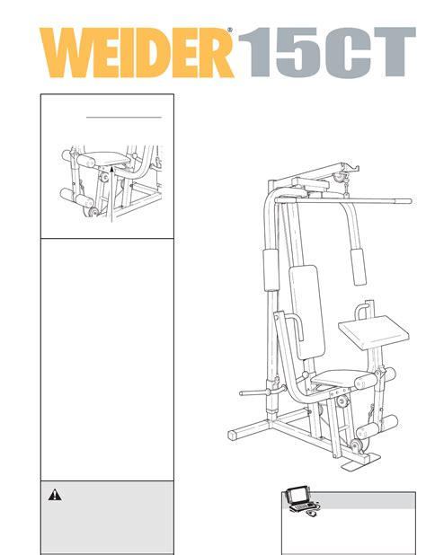 weider equipment manuals fc 170