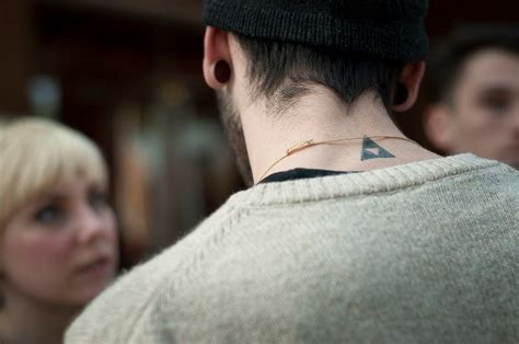 small neck tattoos for men small neck creativefan