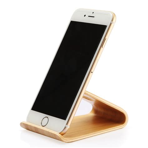 iphone holder 2017 wooden mobile phone stand holder lightweight slim cellphone stand for iphone for samsung