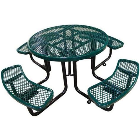 plastic coated picnic tables picnic table plastic coated expanded metal with