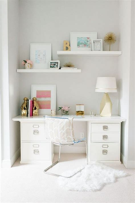desk for small space with drawers best 25 white desk office ideas on pinterest home