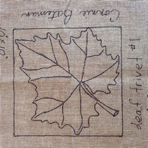 punch needle rug hooking patterns leaf trivet 1 rug hooking punch needle pattern by lcswoolnsilk