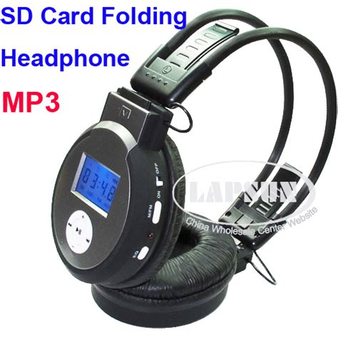 Headphone Mp3 Player Sd Card sd card slot wireless sport headphones headset mp3 player earphone fm line in ls us652