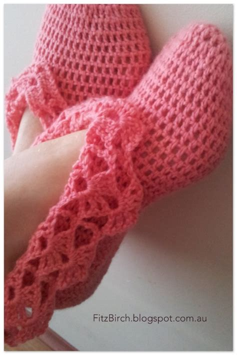 how to crochet ballerina slippers fitzbirch crafts crochet ballerina slippers