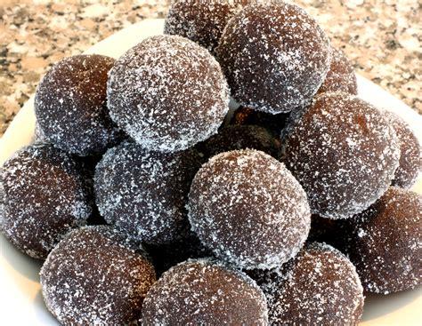 chocolate rum balls recipe by sweet chef ifood tv