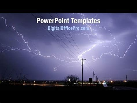 powerpoint templates lightning free lightning strike powerpoint template backgrounds