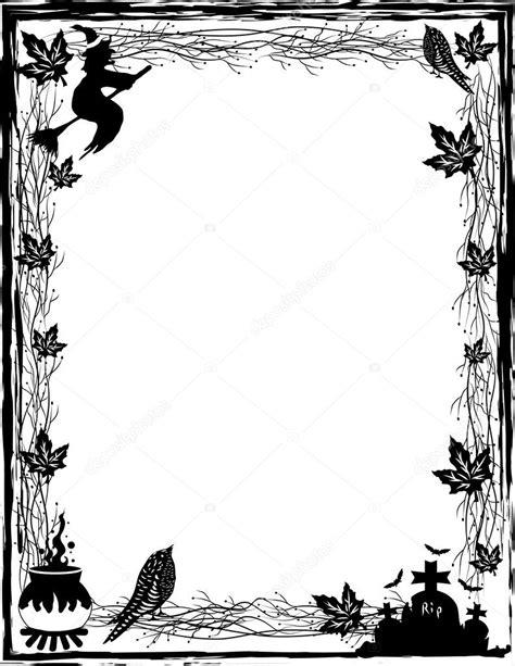 imagenes en blanco y negro de haloween noir et blanc fond dhalloween en vecteur image
