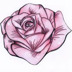 stencil rose pink by nat269 on deviantart