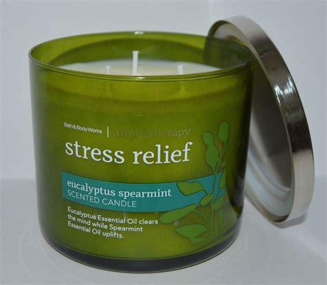 bed and body bath body works stress relief eucalyptus spearmint
