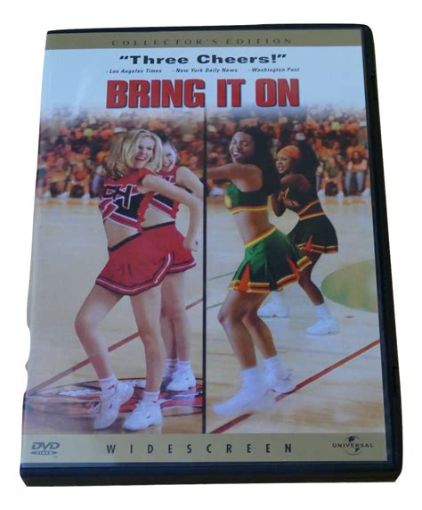 Dvd Bring It On bring it on collector s edition digital disc dvd dvd hd dvd