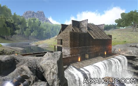 House Plans Sloped Lot by Ark Survival Building Guide How To Build A Base Arkaholic