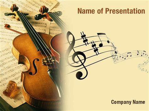 template ppt music free violin powerpoint templates violin powerpoint