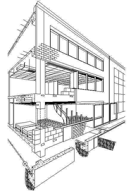 layout of building structure building structure types