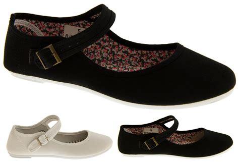Flat Shoes Kanvas Ppyong Black And White new womens white black flat canvas pumps