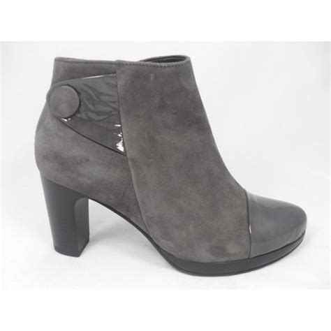 gabor gabor ilex grey suede ankle boot gabor from